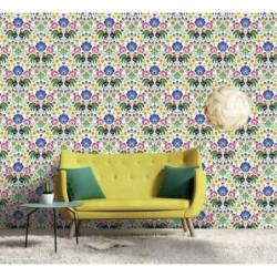 Papier peint motif bohême collection Scenolia
