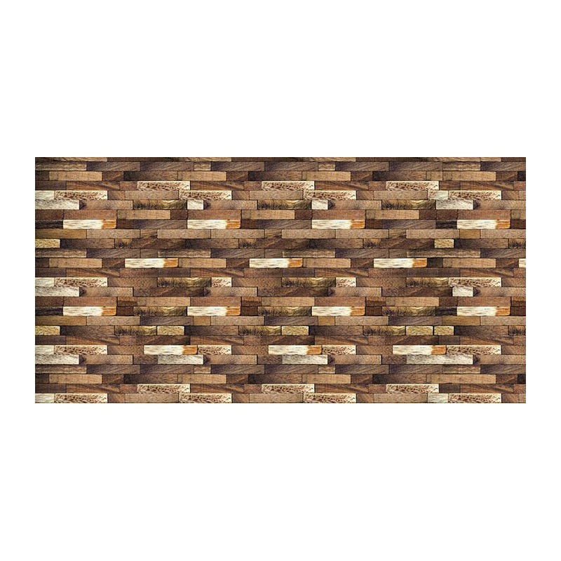 Idée Déco Chambre Ado : Brise vue trompe l'œil barrière en bois
