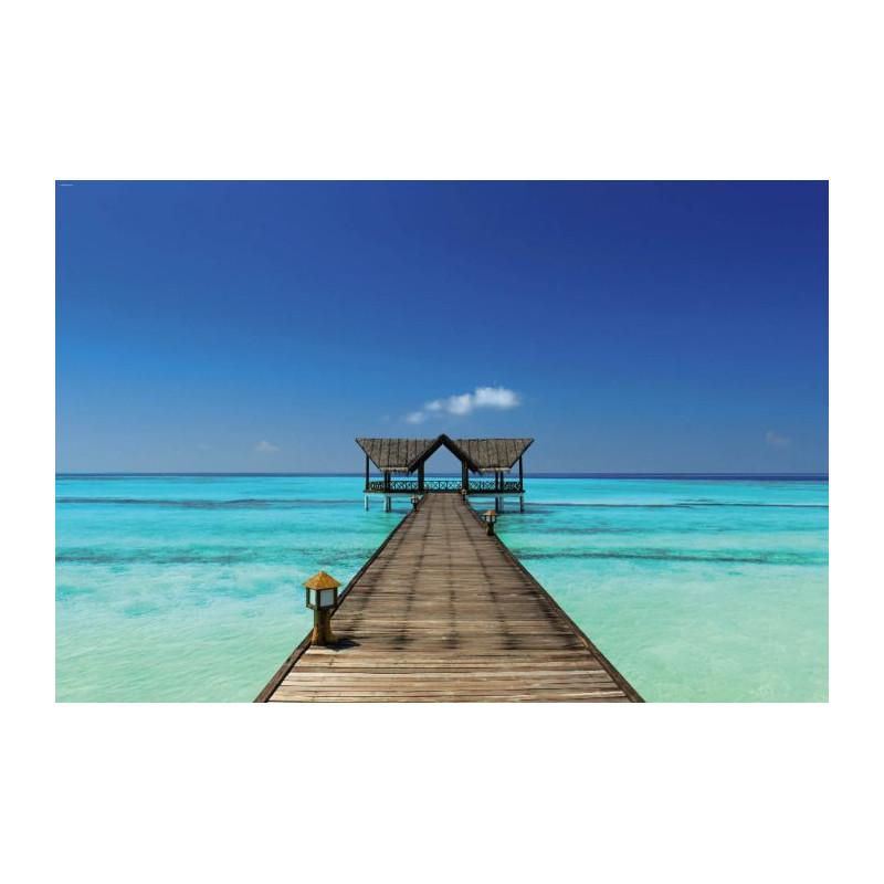 Bora Bora Papier Peint Trompe L Oeil Decor Iles Paradisiaques