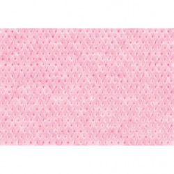 Poster panoramique capiton rose