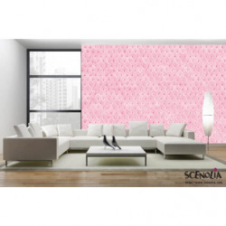 Panoramic pink capiton poster