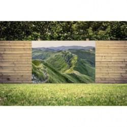 Brise vue paysage de montagne