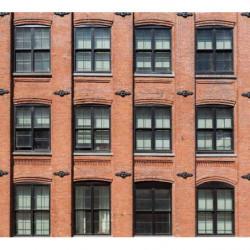 Papier peint façade style industriel
