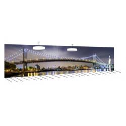 Poster 12 mètres Brooklyn et son pont légendaire