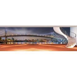Brooklyn New York panoramic wallpaper