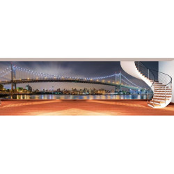 Papier peint Brooklyn New York panoramique