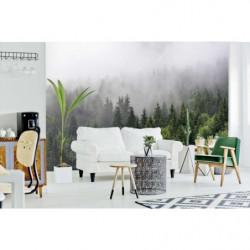 Poster forêt dans la brume grand format