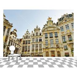 Poster photo de la Grande place à Bruxelles