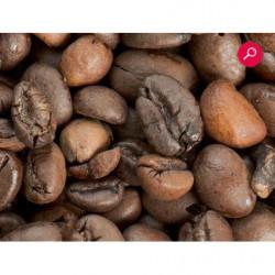 Papel pintado con fotos de granos de café para la decoración de tiendas