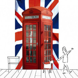 LONDON CALLING  wall hanging
