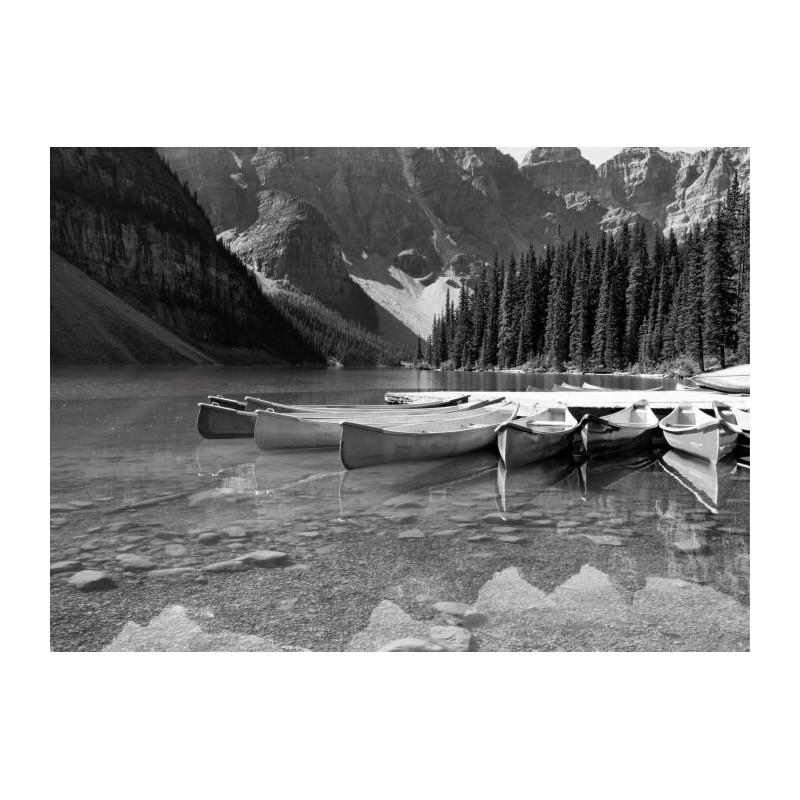 CANADA NB canvas print