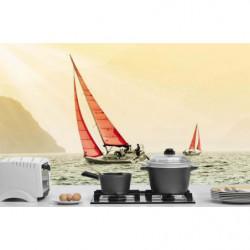 Poster Sailing boats at sea