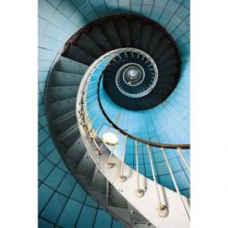 Papel pintado escalera de caracol