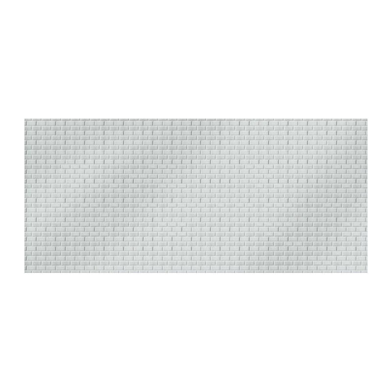 Carreaux metro papier peint 1 m tre 50 carrelage blanc for Carreaux metro