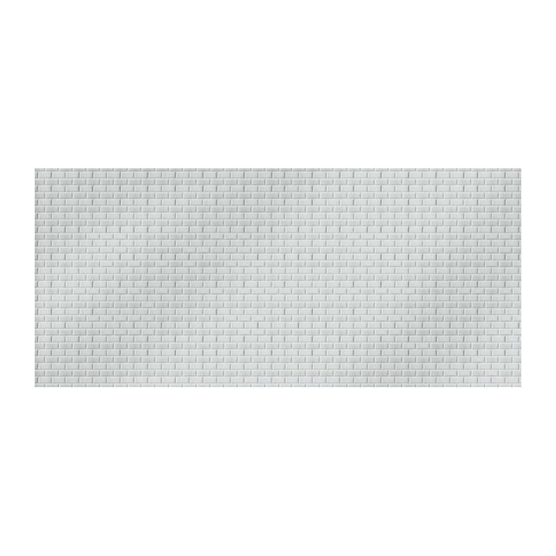 CARREAUX METRO  Poster 1 mètre 50 carrelage blanc