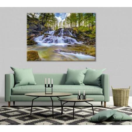 FONTCOUVERTE WATERFALL Canvas print