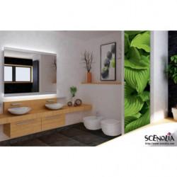 Papier peint végétal, feuilles vertes géantes