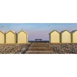 Brise vue paysage de plage en Bretagne