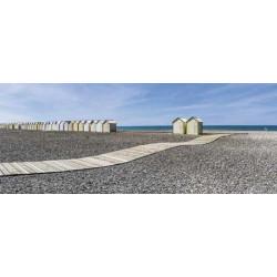 Brise vue paysage de plage déserte
