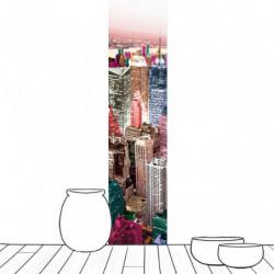 Lé de papier peint New York colorful