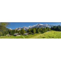 Brise vue paysage de montagne et nature