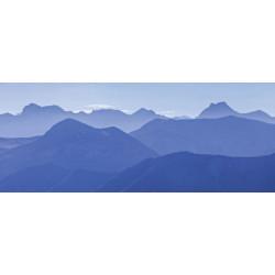 Brise vue montagnes bleues