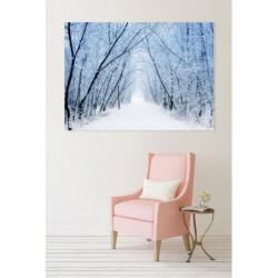 WHITE ROAD Canvas print