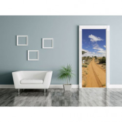 Sand desert door poster
