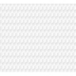 Póster 3D con diseño de panal de abeja