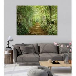 GREEN ROAD Canvas print