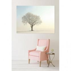 Soft and luminous landscape painting