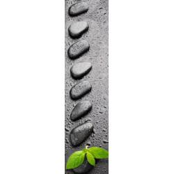 Grey pebble zen wallpaper