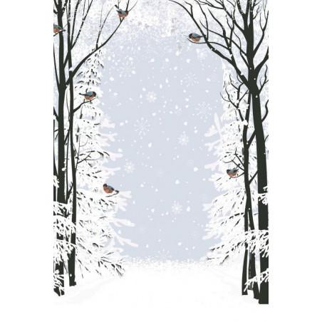 CHRISTMAS BIRDS wall hanging