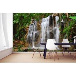Poster panoramique cascade dans la nature