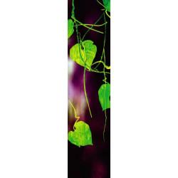 Tenture murale extérieure feuillage vert