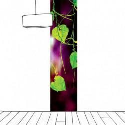 Tenture suspendue feuillage vert format vertical
