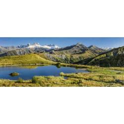 Brise vue paysage lac en montagne