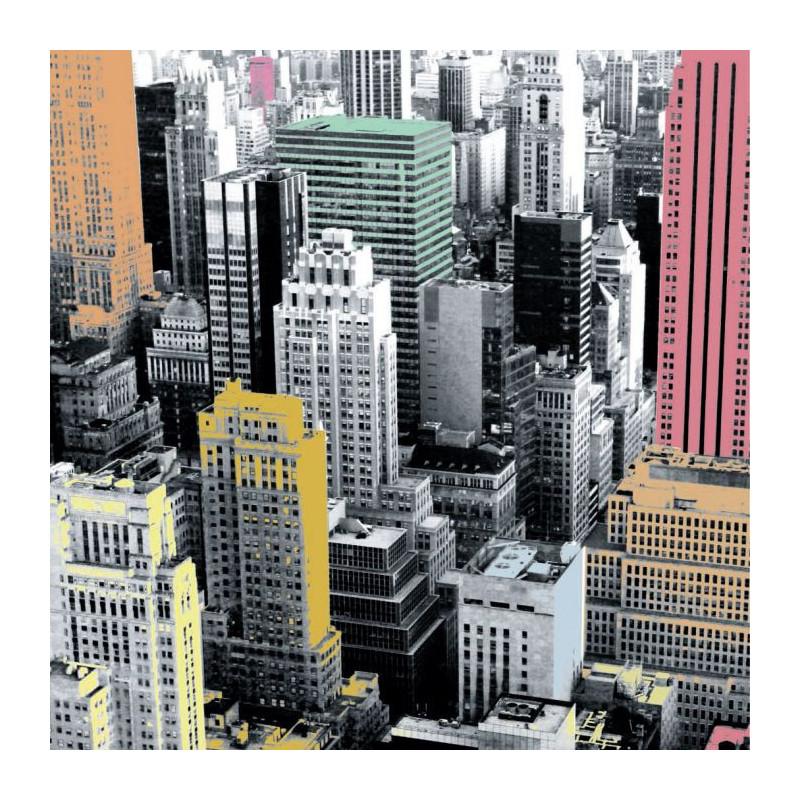 COLOR BUILDING canvas print