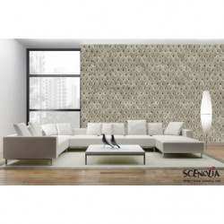 Grey padded poster