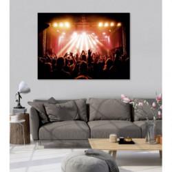 Tableau original photo d'un concert