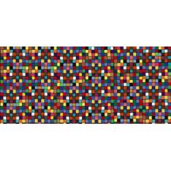 Papier peint coloré carrés de craie