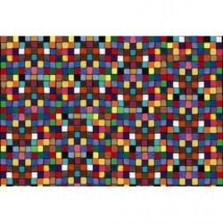 Poster carrés colorés grand format