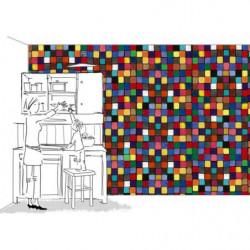 Poster coloured squares