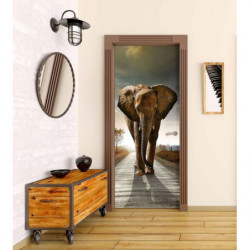 Poster éléphant taille réelle