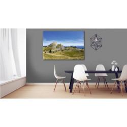 Landscape painting Vercors nature