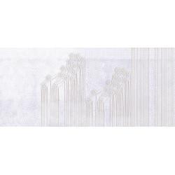 Papier peint panoramique création unique Scenolia dentelle blanche