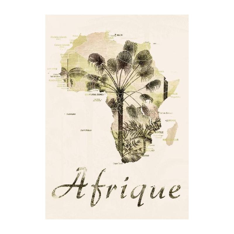 Tableau AFRIQUE VINTAGE