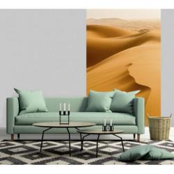 Tenture suspendue photo du désert de sable ocre du Sahara
