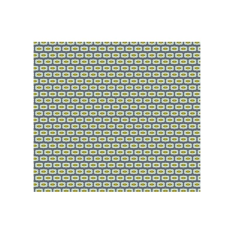 Lé unique de papier peint art déco : motif géométrique et coloré