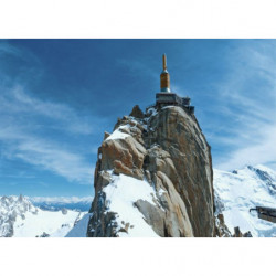 Picture of the Aiguille du Midi Snowy mountain